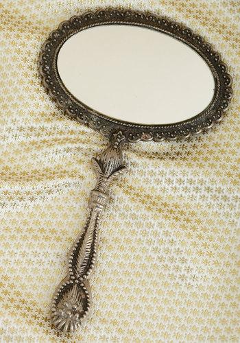 Vintage Peek Interest Mirror