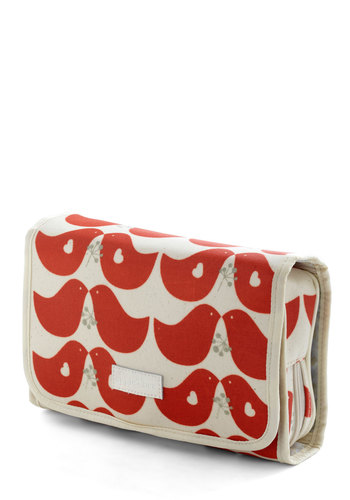 City of Fluttering Love Travel Case - Red, Multi, Quirky, Travel