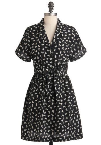 Pied a Terrier Dress