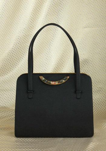 Vintage Holding Courtyard Handbag