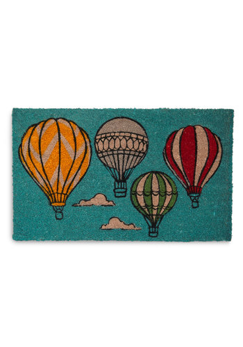 Looking Up Doormat - Blue, Multi, Dorm Decor