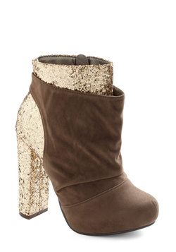 Gilt to Thrill Bootie