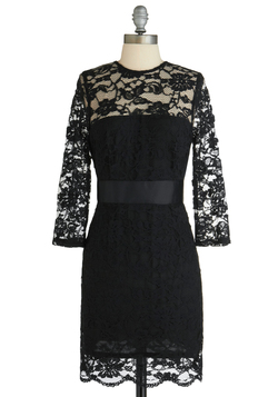 So Noir, So Good Dress