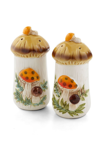 Vintage Savor Every Bite Shaker Set