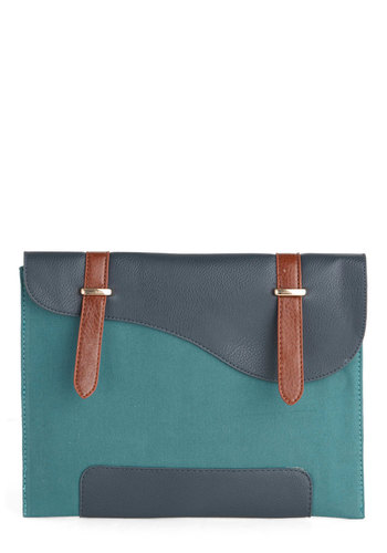 Tech-nically Speaking iPad Sleeve - Green, Blue, Brown, Work, Scholastic/Collegiate