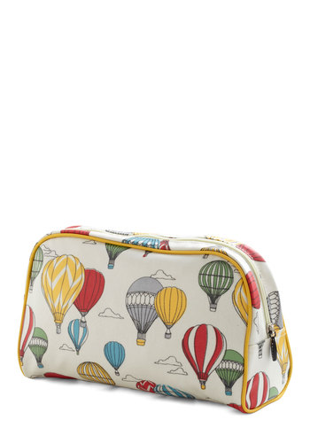 Looking Up Travel Case - Multi, Travel, Novelty Print, Cotton