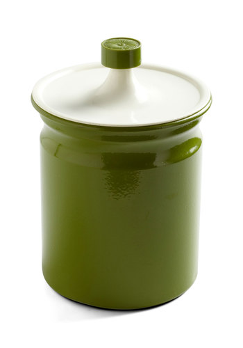 Vintage Top of the Lime Canister