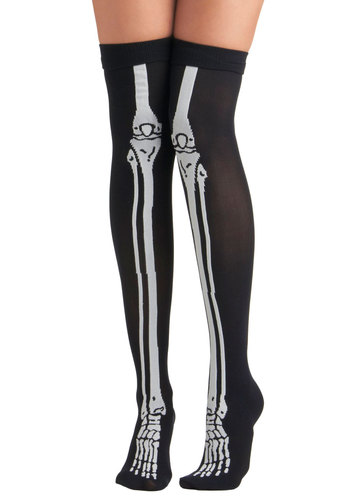 Generation X-Ray Socks by Tabbisocks - Black, White, Statement, Girls Night Out, Halloween, Top Rated