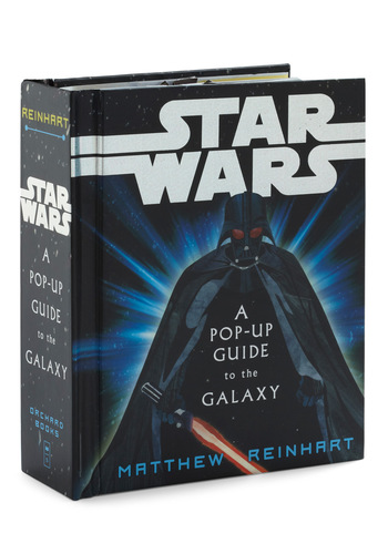 Star Wars: A Pop-Up Guide to the Galaxy - Multi, Dorm Decor, Quirky, Nifty Nerd, Sci-fi