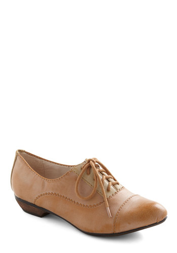 Set in Sandstone Flat - Low, Tan, Solid, Lace Up, Casual