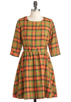 Girls Got Plaid-itude Dress