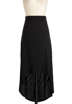 Breezy to See Skirt in Black
