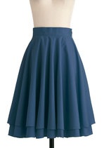 Effortless is More Skirt in Blue