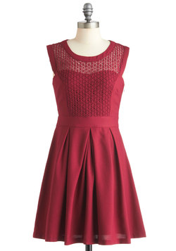 A Berry Important Date Dress