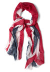 Union Jack My Style Scarf - Novelty Print, Casual, Multi, Red, Blue, White