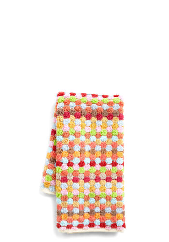 Colors of the Win Wash Cloth - Pink, Boho, Red, Orange, Green, Blue, Dorm Decor, Neon, Cotton