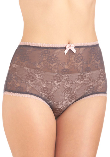 Feminine Foundation Undies - Purple, Pink, Solid, Bows, Lace, Vintage Inspired, Sheer, Tis the Season Sale