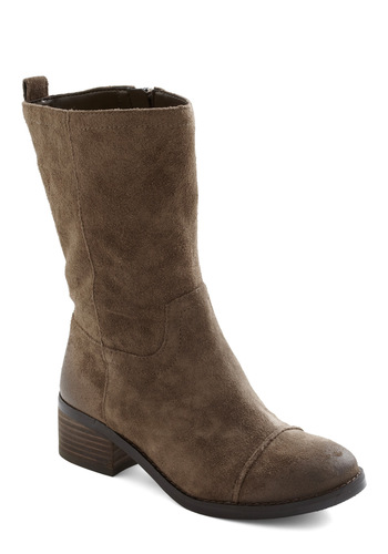 Digging On You Boot - Brown, Solid, Casual, Safari, Rustic, Fall, Winter, Leather, Low
