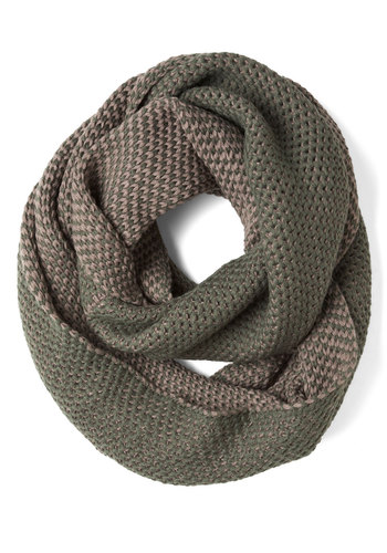 Chill of the Moment Scarf in Green - Green, Knitted, Winter, Casual