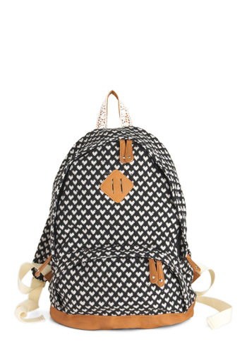 Tutor of a Kind Backpack - Black, Print, Casual, Scholastic/Collegiate