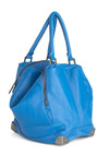 Publicity Photos Bag in Royal Blue - Blue, Solid, Faux Leather, Casual, Urban