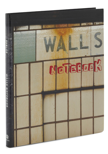 Walls Notebook - Multi, Print, Dorm Decor, Handmade & DIY
