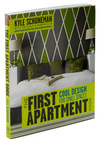The First Apartment Book - Green, Multi, Dorm Decor, Handmade & DIY