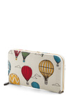 Looking Up Wallet - Multi, Multi, Novelty Print, Exposed zipper