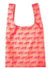 The Sly Shopper Bag by Baggu - Pink, Solid, Print with Animals, Travel, Casual, Neon, Coral