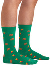 Perfect Combo Socks - Green, Multi, Novelty Print, Casual, Quirky
