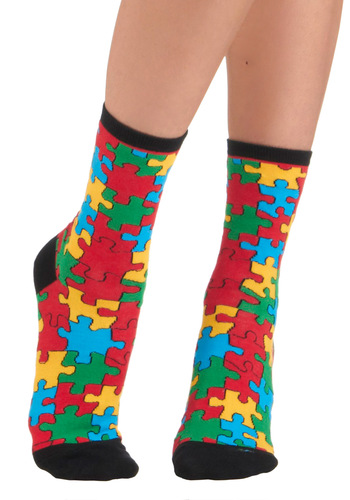How Fitting Socks - Novelty Print, Casual, Quirky, Knitted, Multi