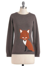Just the Fox, Ma'am Sweater