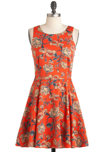 Rose to the Sun Dress