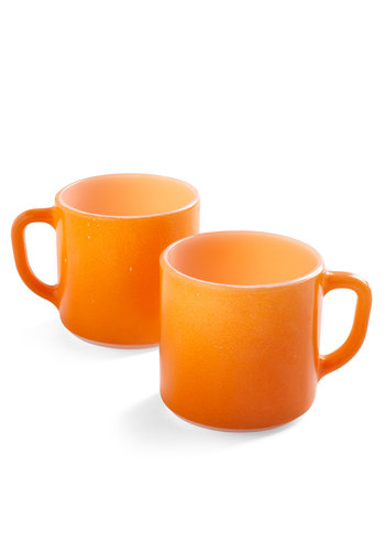 Vintage Squeeze You In Mug Set