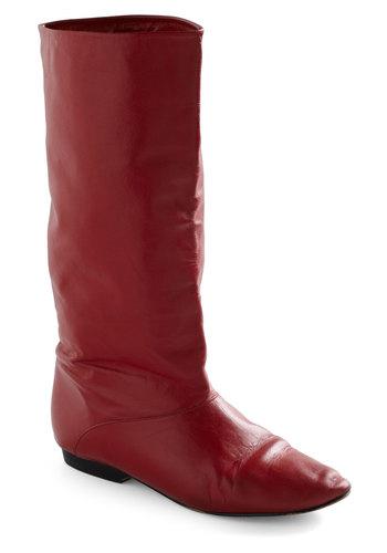 Vintage Kind of a Big Dahlia Boot