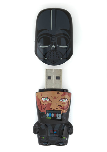 Store Trooper USB Flash Drive in Darth Vader - Black, Scholastic/Collegiate, Quirky, Travel