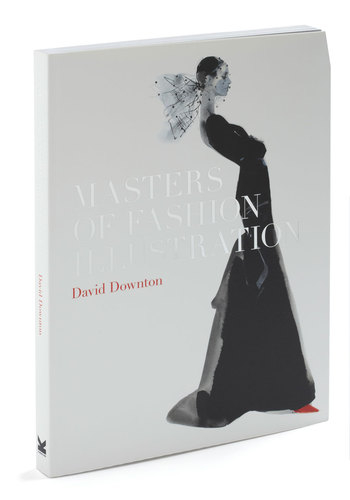 Masters of Fashion Illustration by Chronicle Books - Black, White, Vintage Inspired, Minimal, 20s