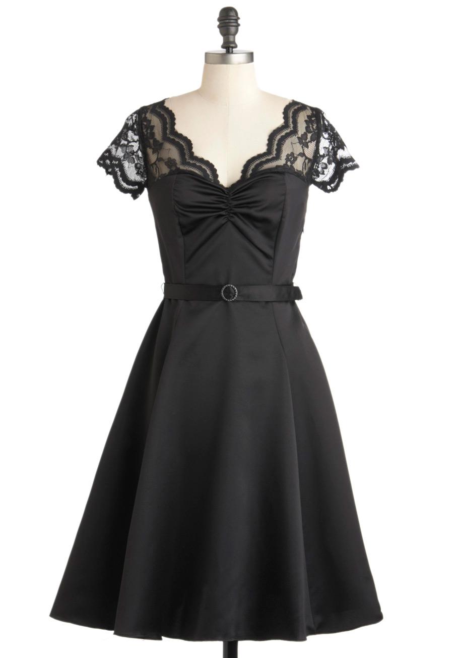 Black Vintage Dresses