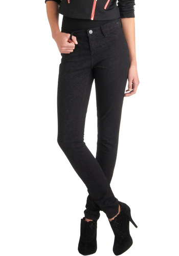 Lace You to the Corner Jean by Dittos - Cotton, Black, Solid, Pockets, Skinny, Denim, Girls Night Out, High Waist, Holiday Sale