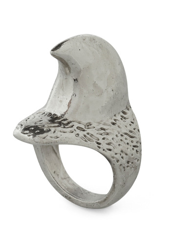Ooh La Claw Ring - Silver, Statement