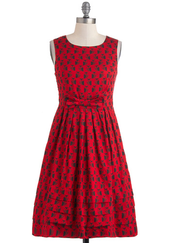 Saw You Standing Stare Dress