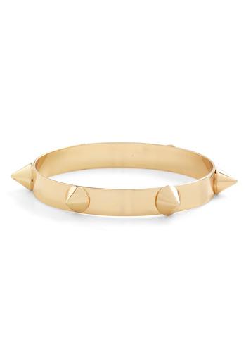 Spike Glee Bracelet - Gold, Studs, 90s, Statement, Urban