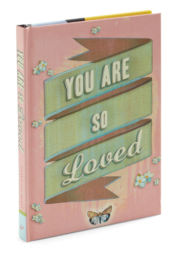 You Are So Loved by Chronicle Books - Pink, Vintage Inspired, Dorm Decor, Graduation, Good, Valentine's