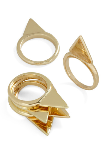 How You Stack Up Rings - Gold, Solid, Statement, Girls Night Out