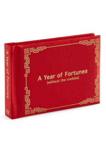 A Year of Fortunes by Knock Knock - Red, Gold, Quirky
