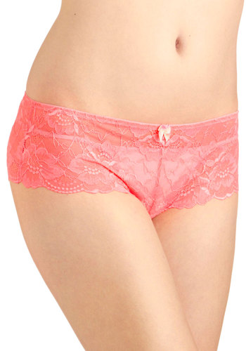 Living in Lovely Undies - Pink, Bows, Lace