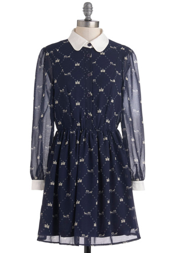 Can't Wait to Be Queen Dress from ModCloth