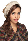 Hat to Break It to You in Goldenrod - Yellow, Knitted, Tan / Cream, Casual, Winter