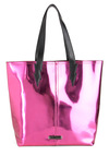 Betsey Johnson Bolt Me to the Ball Tote by Betsey Johnson - Pink, Black, Cotton, Party, Statement, Urban, Tis the Season Sale