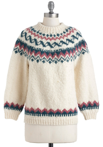 Vintage Roommate Reunion Sweater